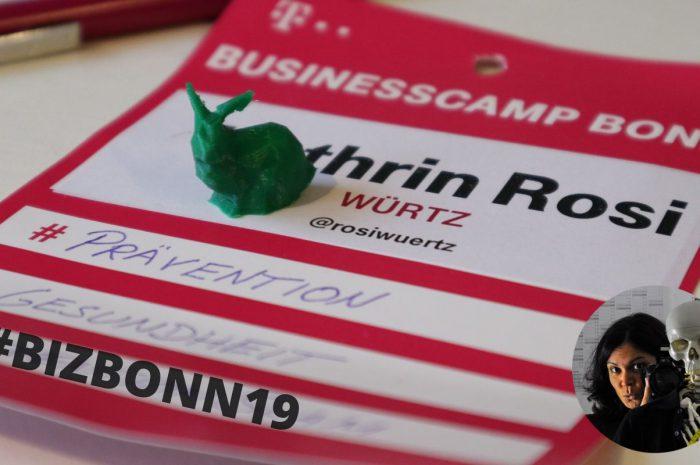 BusinessCamp Bonn 2019: das süße grüne Killer-Kaninchen