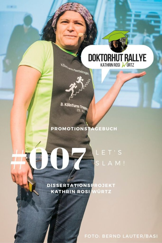 Pinterestbild Promotionstagebuch Prevention Slam